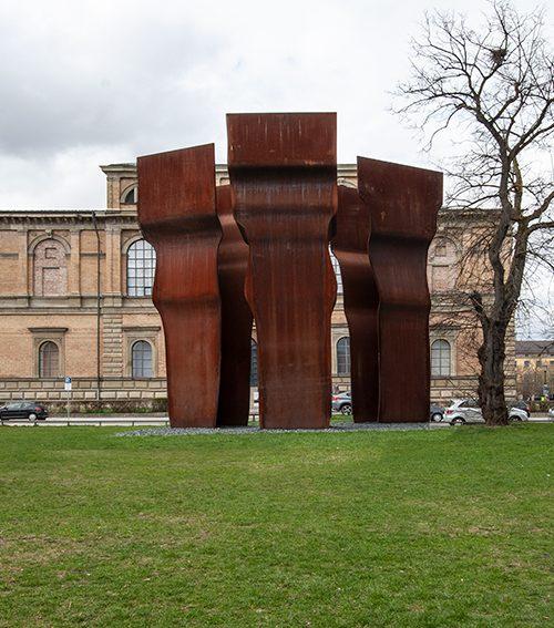 Escultura Chillida Munchen